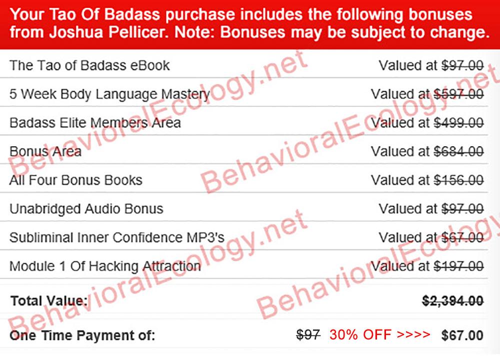 tao of badass book online